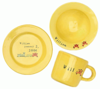 Yellow Baby Bright Dinnerware
