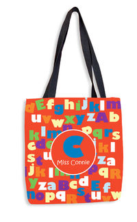 ABC Teacher II Tote Bag