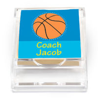 Basketball Sticky Note Holder