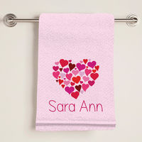 Heart of Hearts Bath Towel