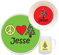 Peace Tree Melamine Set