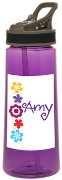 Flower Power Water Bottle