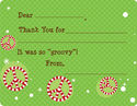 Candy Cane Peace Fill-in Card