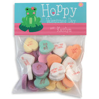 Froggy Valentines Candy Bag Toppers