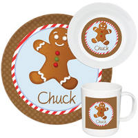 Gingerbread Melamine Set Boy
