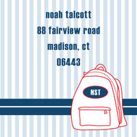 Backpack Boy Label SL8324