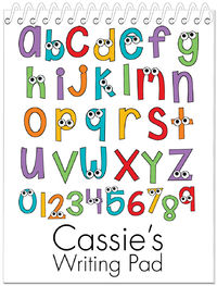 Crazy Alphabet Penmanship Book