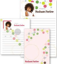 Happy Dots Photo Notepad
