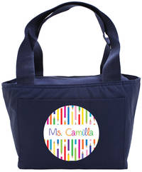 Color Pencils Insulated Tote