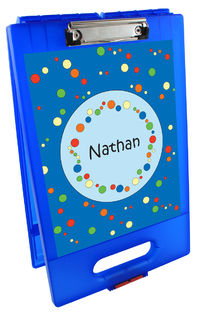 Bubbles Boy Clipboard Storage Case