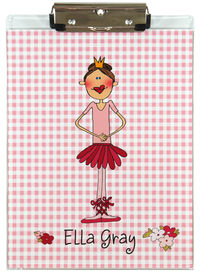 Ballet Princess Acrylic Clipboard