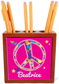 Bubble Peace Pencil and Pen Holder