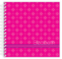 Fuchsia Floral Circles Journal | Notebook