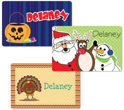 Holiday Placemat Set 2