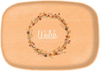 Fall Wreath Platter