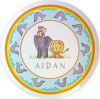 Zoo Friends Plate PLT-842