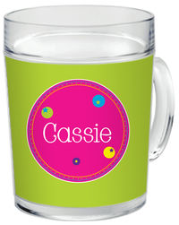 Bubbly Bubbles Clear Acrylic Mug