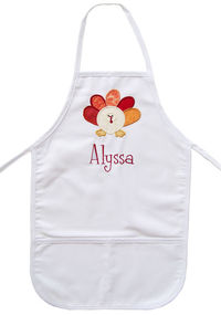 Turkey Embroidered Apron