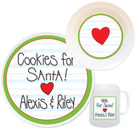Cookies For Santa Melamine Set