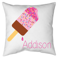 Bright Popsicles 2 Autograph Camp Pillow