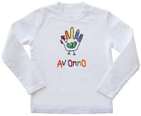 Handy Turkey Girl Embroidered Shirt