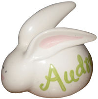 White Bunny Ceramic