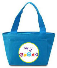 Flower Power Insulated Lunch Tote
