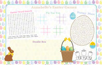 Easter Basket Paper Placemats