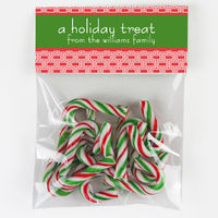Treats Candy Bag Toppers