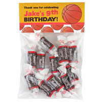 Basketball Birthday Party Candy Bag Favors