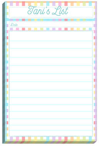 Rainbow List Pad