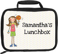 Basketball Girl Lunch Box
