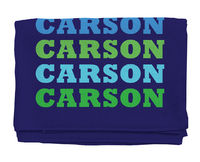 Name In Bright Boy Beach Towel