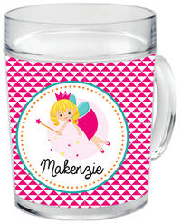 Pixie Princess Clear Acrylic Mug