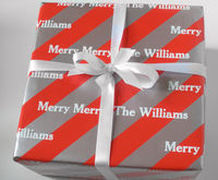 Peppermint Ice Gift Wrap
