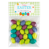 Easter Eggs Candy Bag Toppers