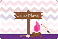 Camp Fire Girl UNPERSONALIZED Postcard