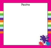 Summer Stripes Art Writing Board