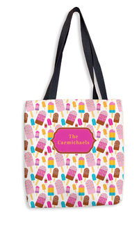 Party Popsicles Tote Bag