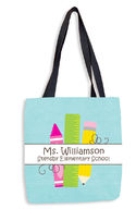 Class Utensils Tote Bag
