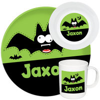 Crazy Bat Melamine Set