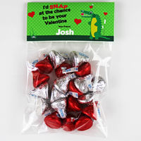 Gator Love Valentines Candy Bag Toppers