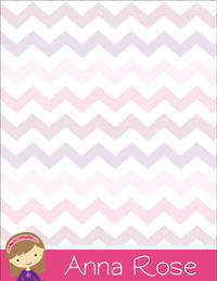 Girly Girl Large Notepad