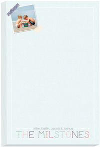 Washy Frame Photo Note Pad