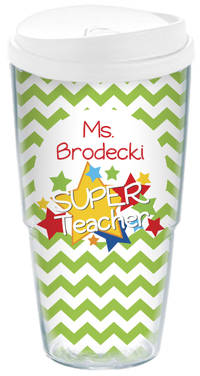 Stellar Teacher Acrylic Travel Cup