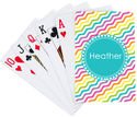 Candy Waves Playing Cards
