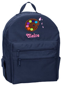 Art Palette Embroidered Backpack