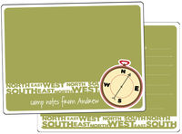 Compass Camp Fill-in Card