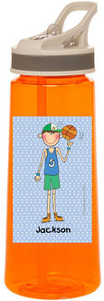Basketball Boy Water Bottle