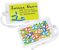 Colorful Sneakers Luggage Tag